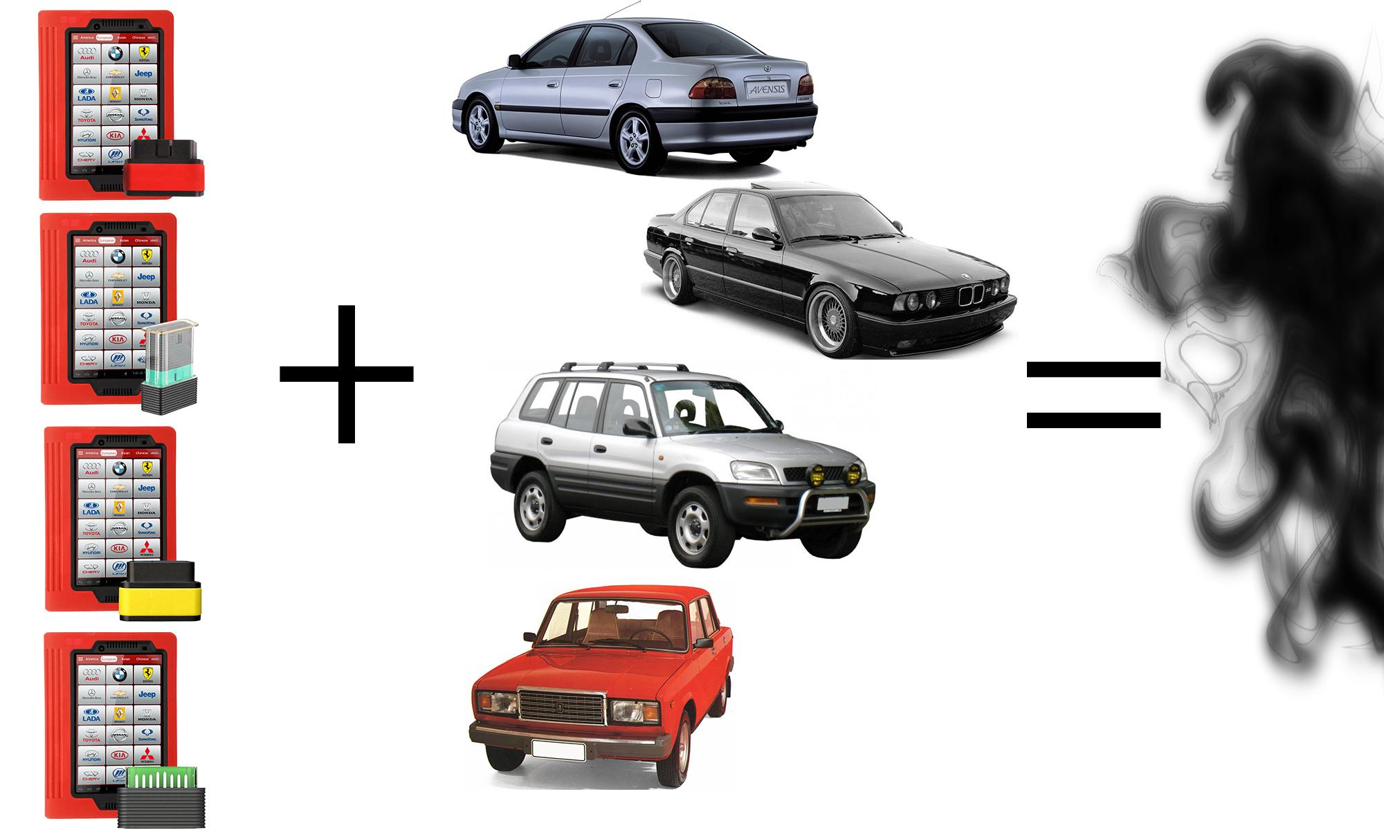 К каким авто нельзя подключаться с Launch